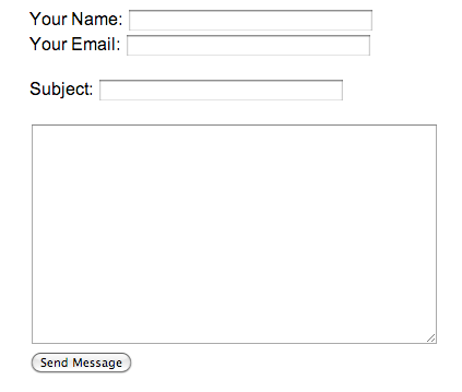 Secure Message form